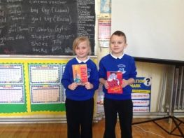 Christmas Literacy Winners