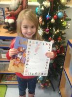 Christmas Literacy Winners P1-P3