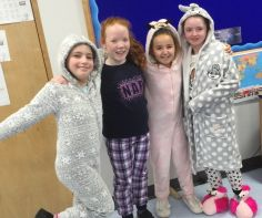 Fundraising days: Pajama day and bring your toy to school day.