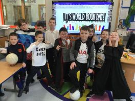 Primary 5 - World Book Day