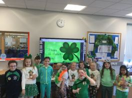 Primary 5 - St Patrick's Day 2020